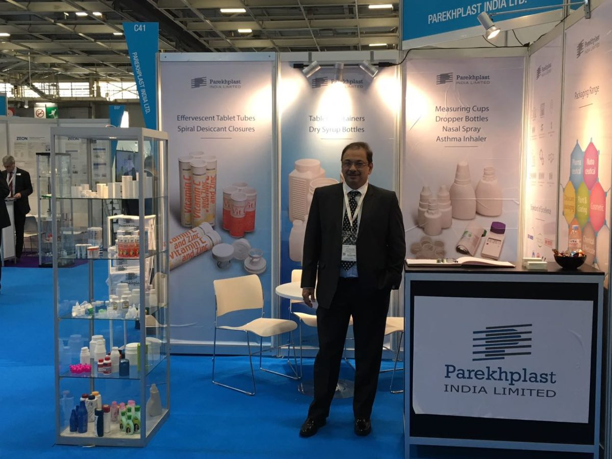Parekhplast exhibits at Pharmapack Europe